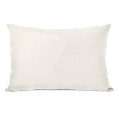 Bilderback Charcoal Outdoor Lumbar Pillow Color: Ivory