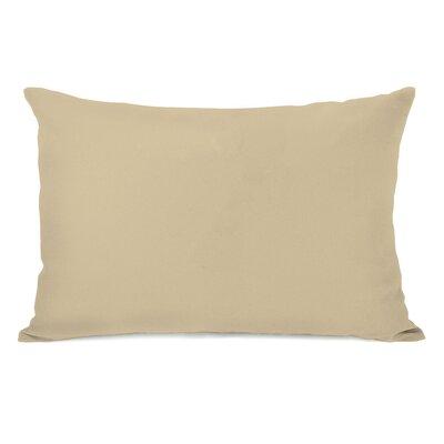 Bilderback Charcoal Outdoor Lumbar Pillow Color: Sand