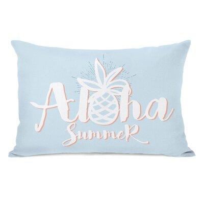 Grisborne Aloha Summer Outdoor Lumbar Pillow