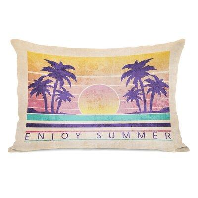 Leighton Enjoy Summer Outdoor Lumbar Pillow