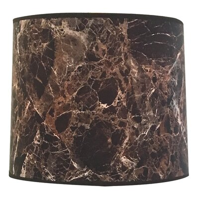 Marble Texture Hardback Lamp Shade Size: 10 H x 14 W x 14 D