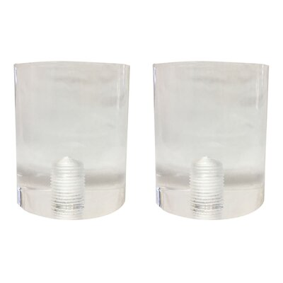 Short Cylinder Lamp Finial