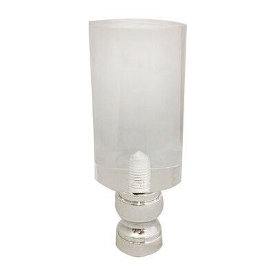 Tall Cylinder Lamp Finial