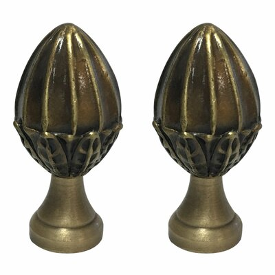 Fancy Egg Shape Design Lamp Finial