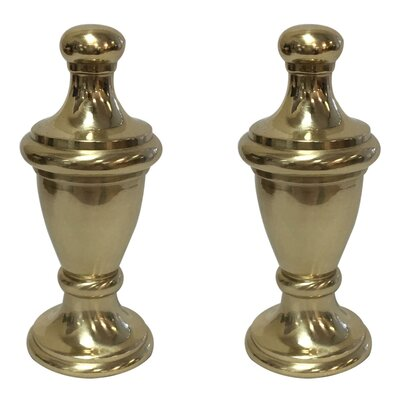 Simple Vase Design Lamp Finial Finish: Polished Brass