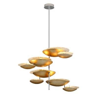 Libra 8-Light Candle-Style Chandelier