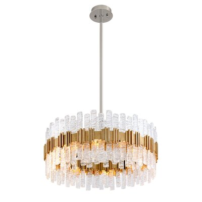 Ciro 10-Light Drum Pendant