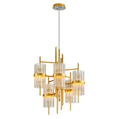 Symphony 5-Light Candle-Style Chandelier