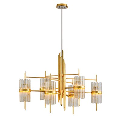 Symphony 6-Light Candle-Style Chandelier