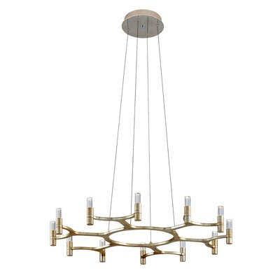 Nexus 12-Light LED Candle-Style Chandelier 258-012