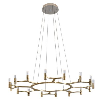 Nexus 16-Light LED Candle-Style Chandelier 258-016