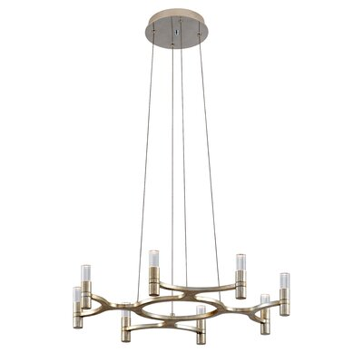 Nexus 8-Light LED Candle-Style Chandelier 258-08