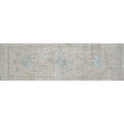Alloway Transitional Beige Area Rug Size: Runner 26 x 8