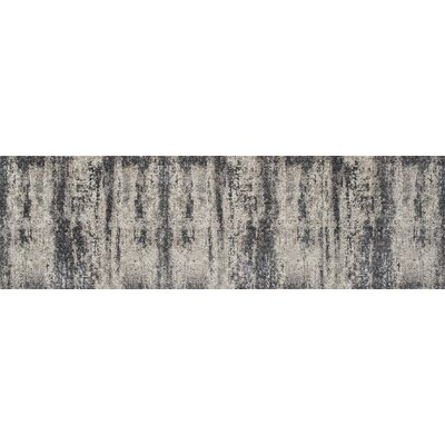 Grable Transitional Silver Sand Area Rug Rug Size: Runner 26 x 8