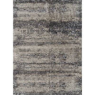 Grable Transitional Silver Sand Area Rug Rug Size: Rectangle 53 x 76