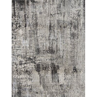 Grable Transitional Gray Area Rug Rug Size: Rectangle 53 x 76