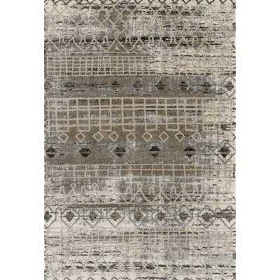Mantz Modern Walnut Area Rug Rug Size: Rectangle 21 x 31