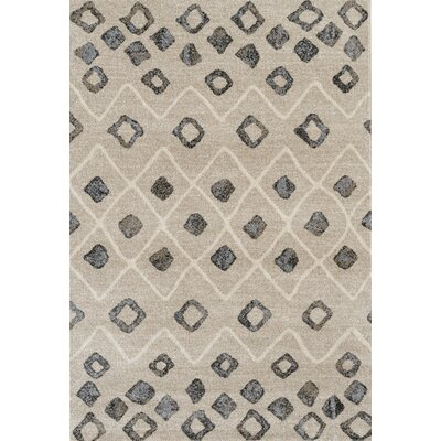 Fossen Modern Beige Area Rug Rug Size: Rectangle 21 x 64
