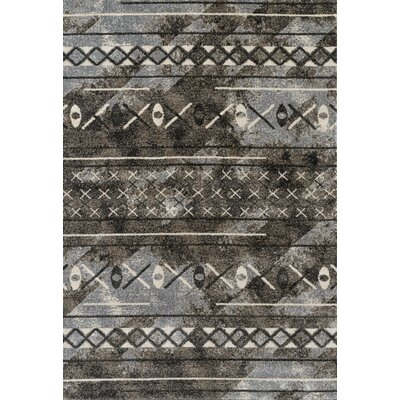 Mantz Modern Walnut Area Rug Rug Size: Rectangle 35 x 56