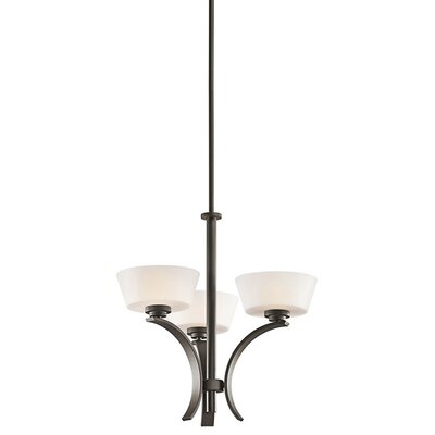 Perez 3-Light Candle-Style Chandelier