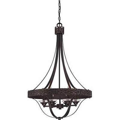 Cahoon 6-Light Candle-Style Chandelier