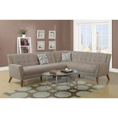 Cowden Sectional Upholstery: Sand