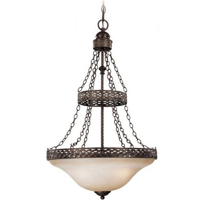 Cadwell 3-Light Empire Chandelier