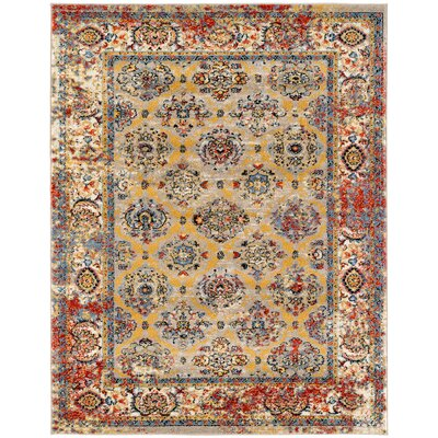 Parrett Transitional Beige Area Rug Rug Size: Runner 2 x 6