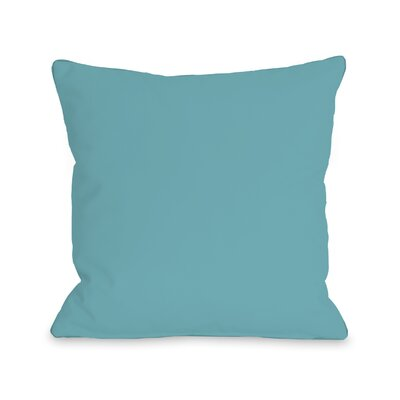 Bilderback Outdoor Throw Pillow Color: Sky