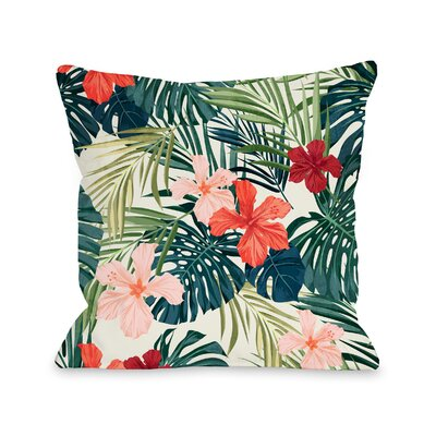 Blaisdell Outdoor Throw Pillow Size: 18 x 18