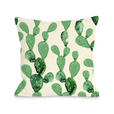 Dovercourt Cacti Columns Outdoor Throw Pillow Size: 16 x 16