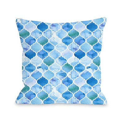 Patino Outdoor Throw Pillow Size: 18 x 18