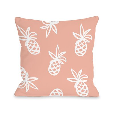 Midway Pines Outdoor Throw Pillow Size: 18 x 18
