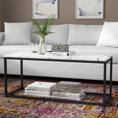 Buller Coffee Table Base Color: Gray