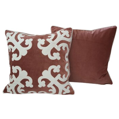 Cailsey Applique Indoor/Outdoor Throw Pillow