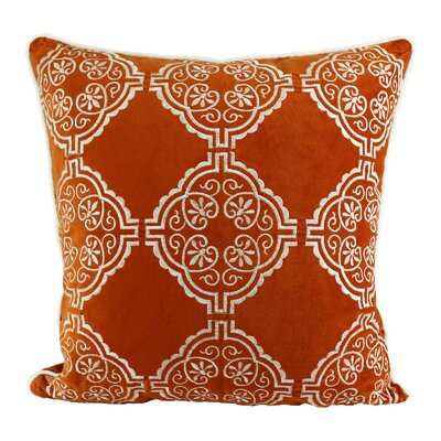 Fallinerlea Embroidery Indoor/Outdoor Throw Pillow