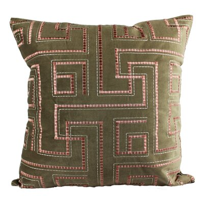 Fillmore Embroidery Indoor/Outdoor Throw Pillow