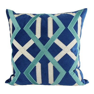 Fillion Applique Indoor/Outdoor Throw Pillow