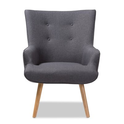 Choi Lounge Chair Upholstery: Dark Gray