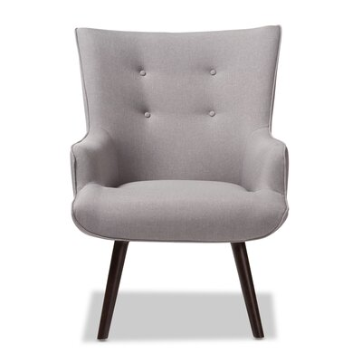 Choi Lounge Chair Upholstery: Light Gray