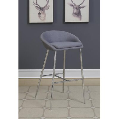 30.25 Bar Stool Upholstery: Gray