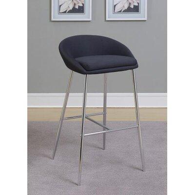 30.25 Bar Stool Upholstery: Black