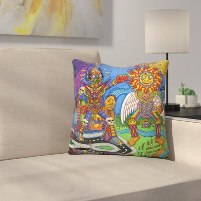 The Battle of Mind N Soul Throw Pillow