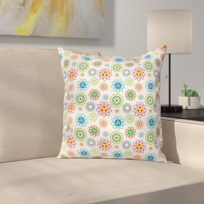 Modern Indian Pattern Cushion Pillow Cover Size: 24 x 24
