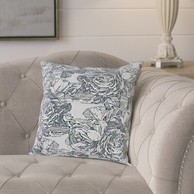 Siegel Cotton Pillow Cover Color: Light Gray