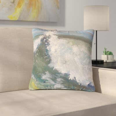 Carol Schiff the Crest Nautical Painting Outdoor Throw Pillow Size: 18 H x 18 W x 5 D