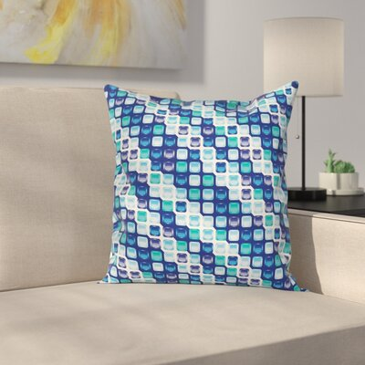 Square Pattern Pillow Cover Size: 24 x 24