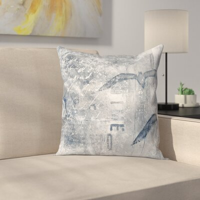 Time Flies 2 Throw Pillow Size: 14 x 14