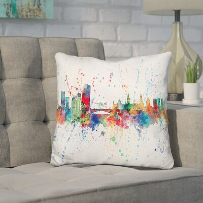 Jarrett Leeds England Throw Pillow