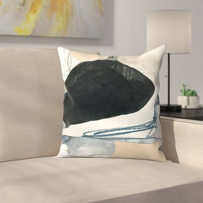 Olimpia Piccoli The Space Between Ii Throw Pillow Size: 18 x 18